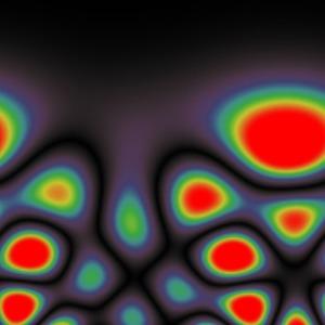 Chaotic quantum falling
