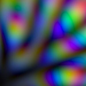 Colours of random waves